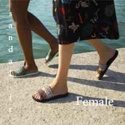 دمپایی استخری زنانه