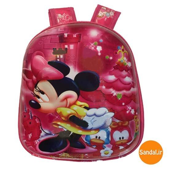 کوله پشتی بچگانه مینی موس 2437 ( Minnie Mouse Backpack )