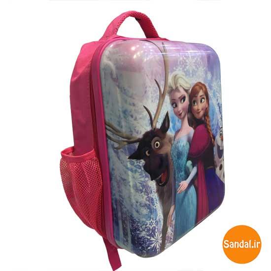 کوله پشتی آنا و السا مدل 2438 ( Elsa, Anna, Frozen Backpack )
