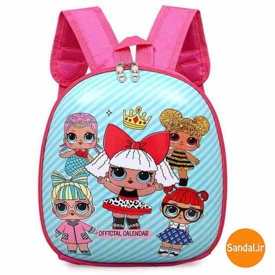کوله پشتی ال او ال مدل 2442 ( LOL Backpack )