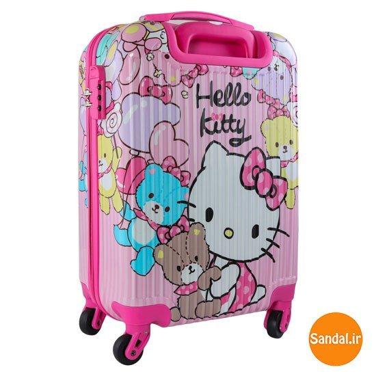 چمدان کودک هلوکیتی  مدل 2539 ( Unicorn Baggage )