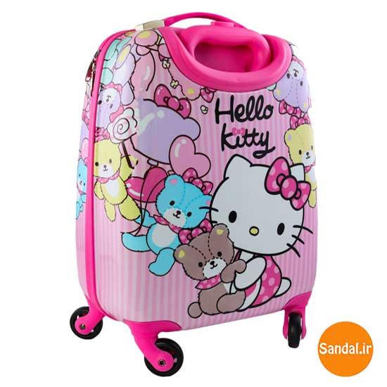 ست چمدان کودک هلوکیتی (  Hello kitty baggage)