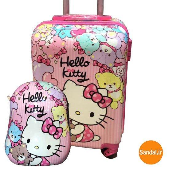 چمدان کودک هلوکیتی  مدل 2538 ( Unicorn Baggage )