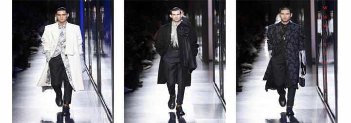 عکس از شوی لباس مردانه برند دیور