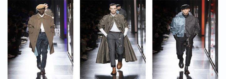 عکس از شوی لباس مردانه دیور