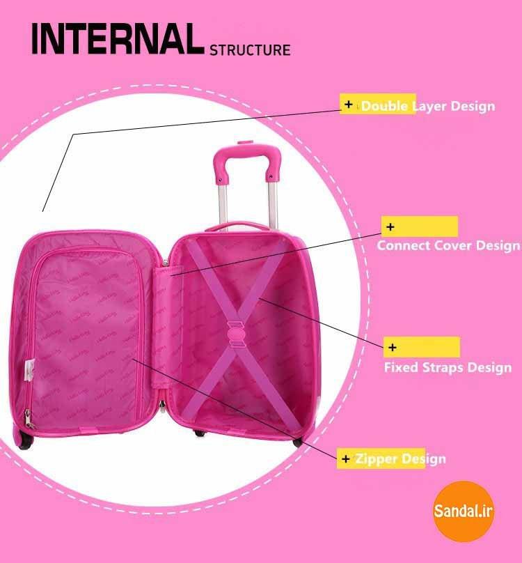 چمدان کودک هلوکیتی